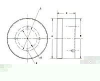 Picture of ST 5-1/4 R , High Power Standard Pole Rotary Chucks
