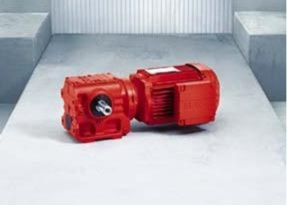 Picture of SAF77 , S Series Helical-Worm Gearmotor