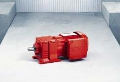 Picture of R57F , R Series Multi-Stage Helical Gearmotor