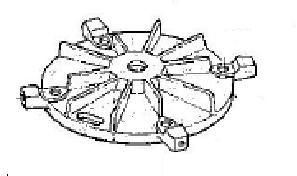 Picture of 04-00 , Support bracket (fan end)