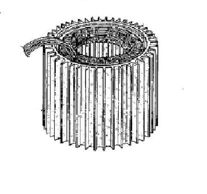 Picture of 06-00 , Wound stator assembly