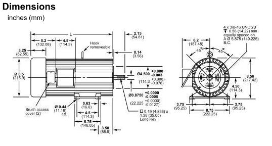 Picture of 8053-00 , Cycletrol Permanent Magnet DC Motor