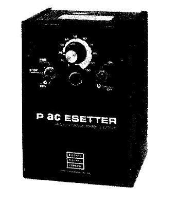 Pacesetter NEMA-1 IP-40 Series AC Motor Speed Control