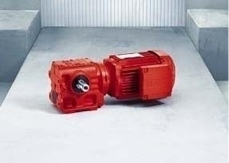 S Series Helical-Worm Gearmotors